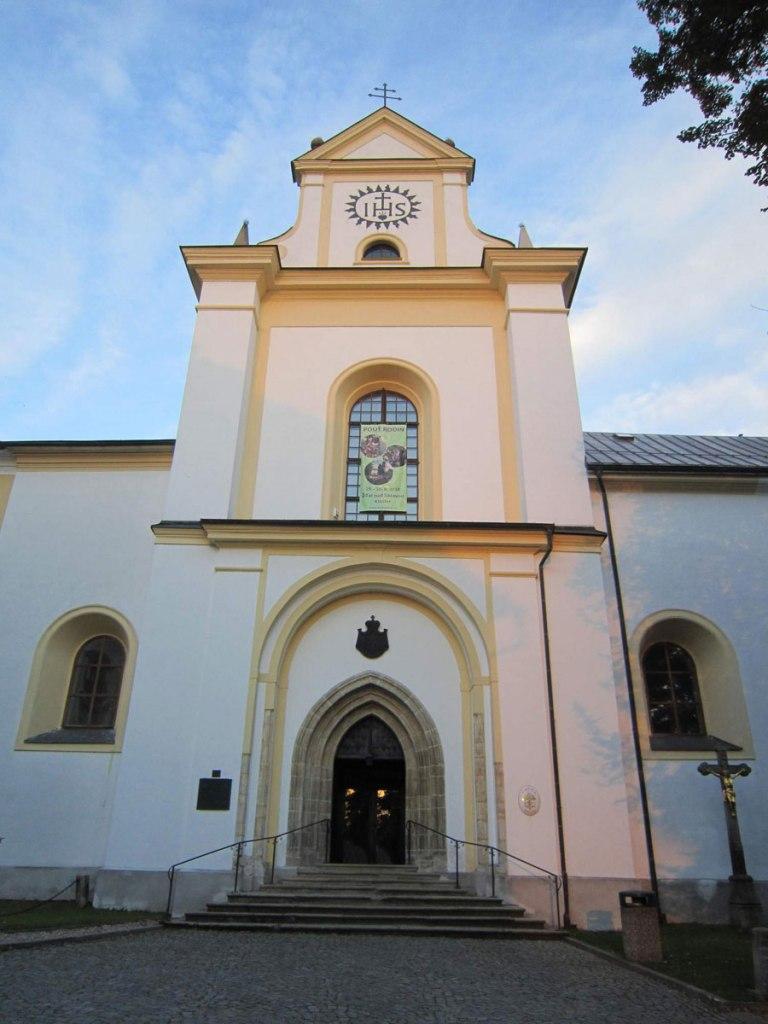 Kláštery Areál cisterciáckého kláštera